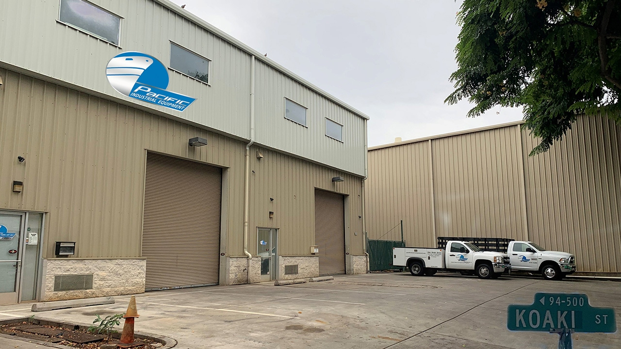 Pacific Industrial Equipment's Facility