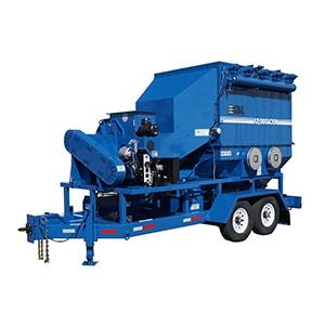 Blue Diesel Dust Collector Unit
